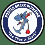 Rooster Shark Plumbing Logo